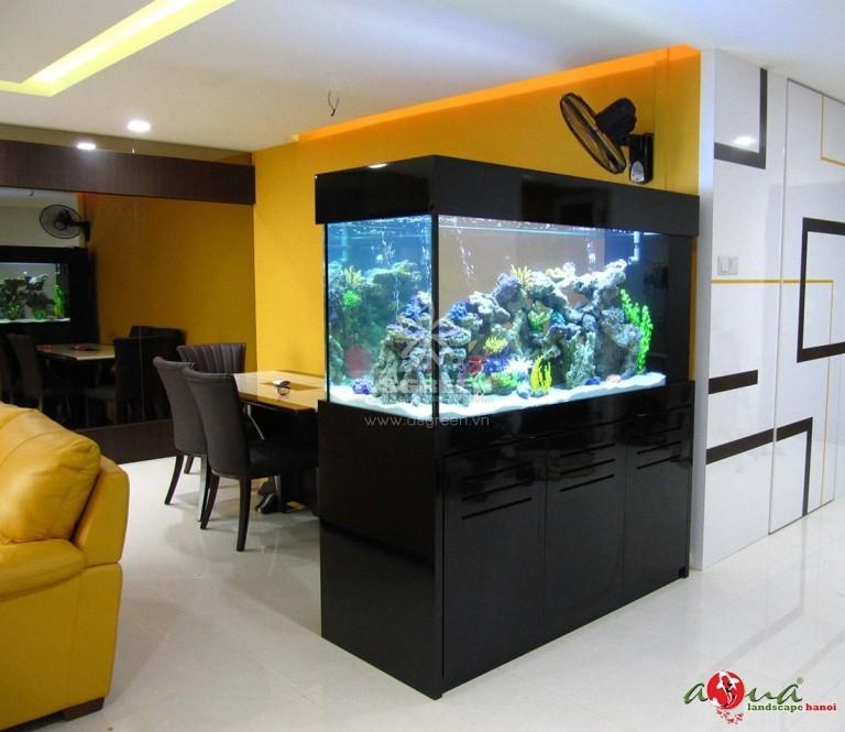 Mẫu bể cá cảnh trong nhà tuyệt đẹp