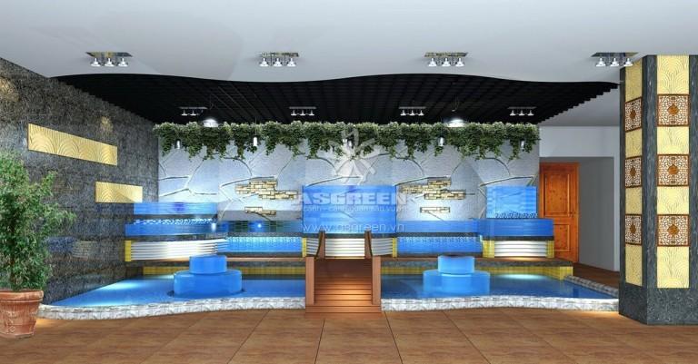 Thiết kế thi công bể hải sản