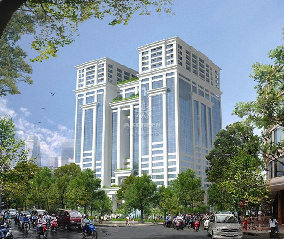 Tòa nhà Vincom Thành phố Hồ Chí Minh lắp kính tiết kiệm năng lượng