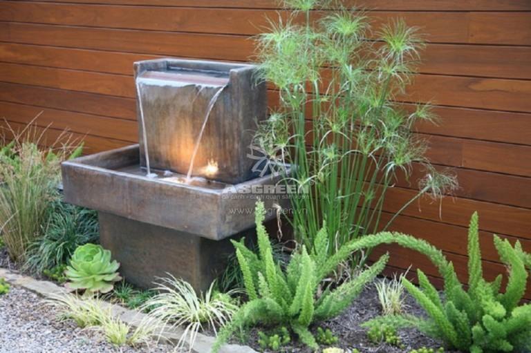 Thiết kế đài phun nước mini cho gia đình
