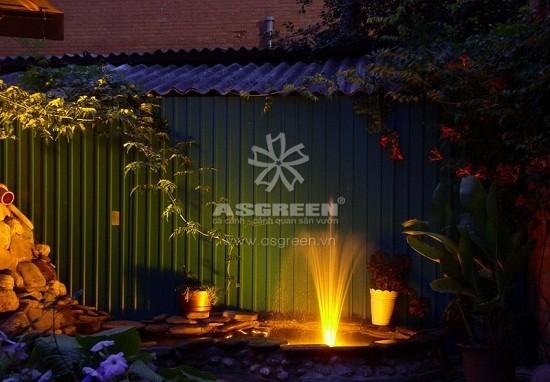 Tạo đài phun nước trong lành, mát lạnh nơi vườn nhà