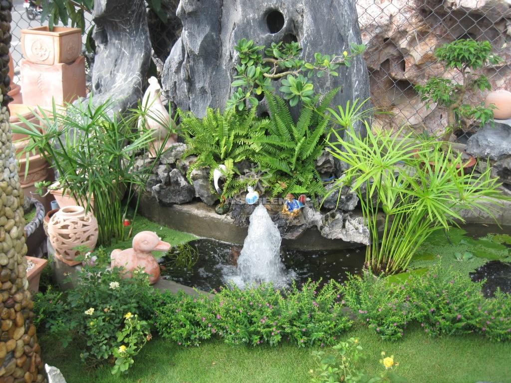 Tiểu cảnh sân vườn nhà đẹp