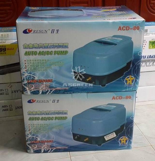 Máy sủi tích điện Resun ACD 80