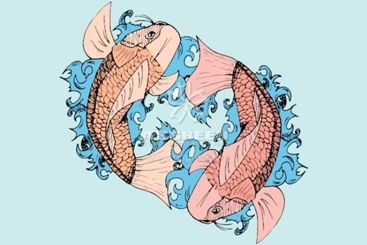 Cho dù cá koi trong một hình xăm đang bơi ngược hoặc xuôi dòng có thể tác động đến ý nghĩa của nó