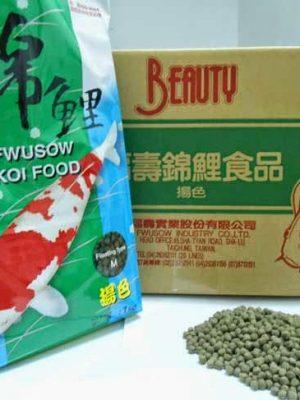 Fwusow-Koi-Food- mau sac tang nhanh cho ca koi