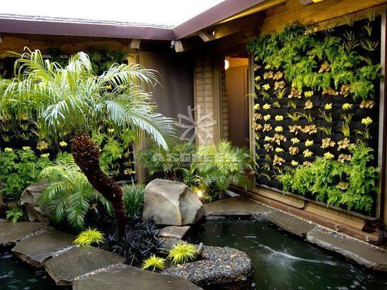 Bộ sưu tập mẫu tiểu cảnh sân vườn đẹp mê hồn