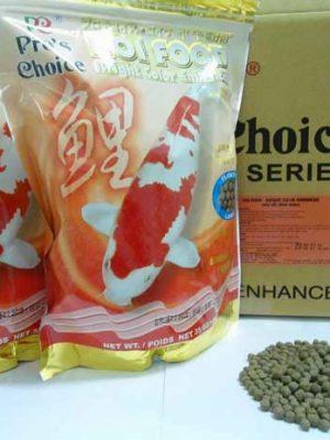 koi food color bright tang mau sang bong cho ca koi