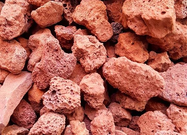 Nham thạch là vật liệu lọc sinh học rất tốt